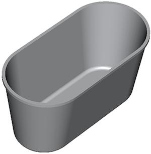 Хлебопекарные формы Л10 (по ТУ); Л10овал(по ТУ)
