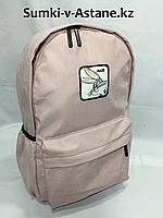 Стильный молодежный рюкзак для девушек.Высота 41 см, ширина 28 см,глубина 14 см., фото 1