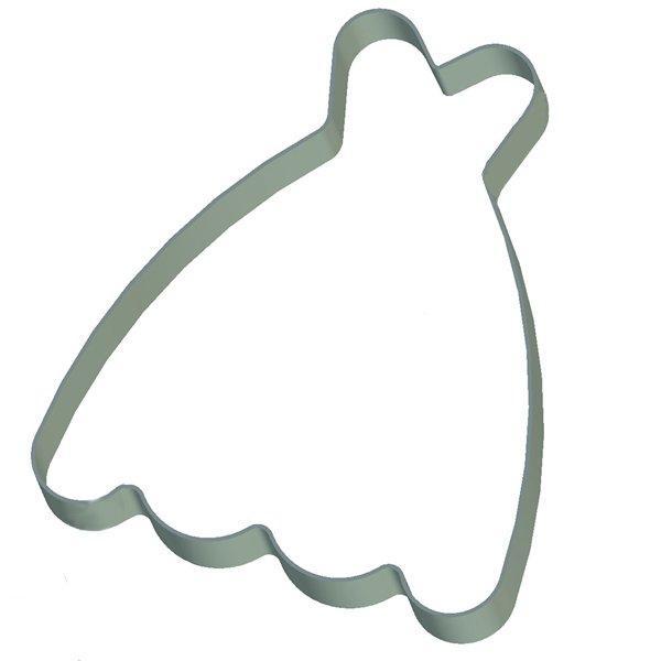 Кондитерская форма Платье