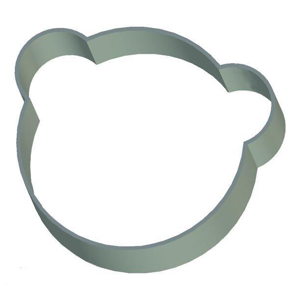 Кондитерская форма Голова мишки