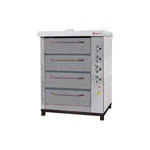 Печь хлебопекарная электрическая ХПЭ-750/4 (нерж.) в обрешетке