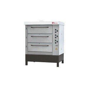 Печь хлебопекарная электрическая ХПЭ-750/3(нерж.) в обрешетке