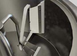 Скребки фторопластовые боковые на мешалку