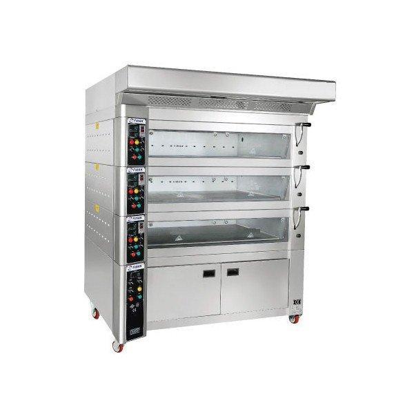 Печь этажная кондитерская EKF 120-80, 1уровень ,внутренние размеры 120*80 cм ,каждый этаж 1 м² кв.м.