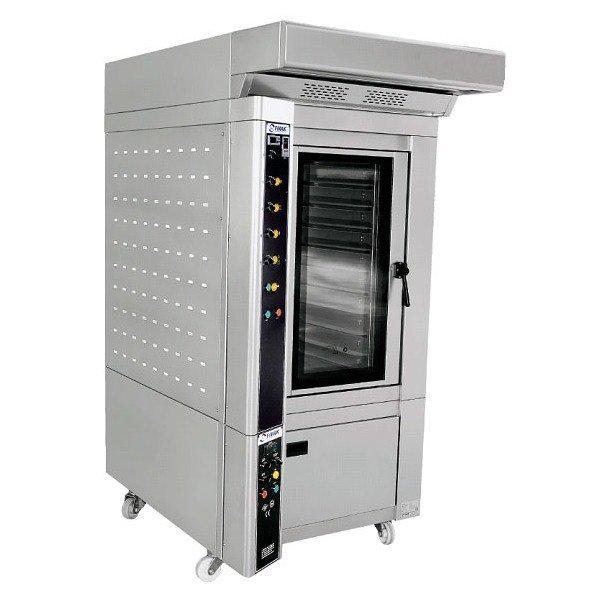 Печь конвекционная кондитерская FPF 40*609E, электр на 10 противней 600Х400 ,c расст камерой на 20 п