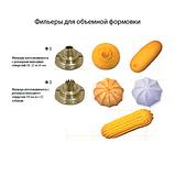 Комплект бронзовых фильер для станка Универсал (5шт), фото 3