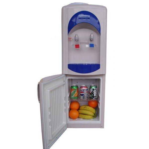 Кулер для воды напольный Aqua Work 28 L-B/B с холодильником