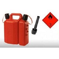 Канистра пластиковая для топлива и масла (3,5+1,5 л) (7010)