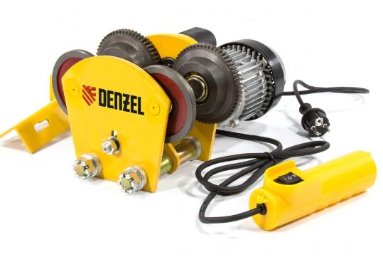 Каретка электрическая для тельфера T-1000, 1 т, 540 Вт// Denzel