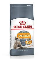 HAIR & SKIN CARE. Корм для взрослых кошек для поддержания здоровья кожи и шерсти. 10 кг/уп