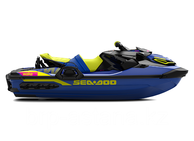 Гидроцикл Sea-Doo Wake Pro Sound System 170 3-мест. Синий с желтым 2020