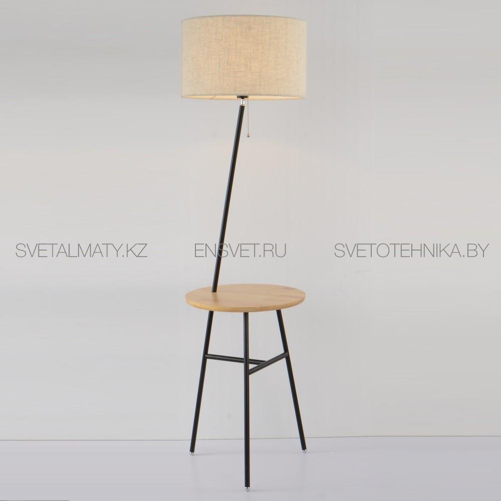 Торшер тренога с деревянным столиком Arte Lamp COMBO
