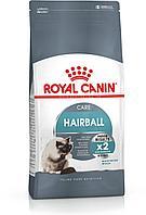 HAIRBALL CARE. Корм для выведения волосяных комочков шерсти кошек. 10 кг/уп