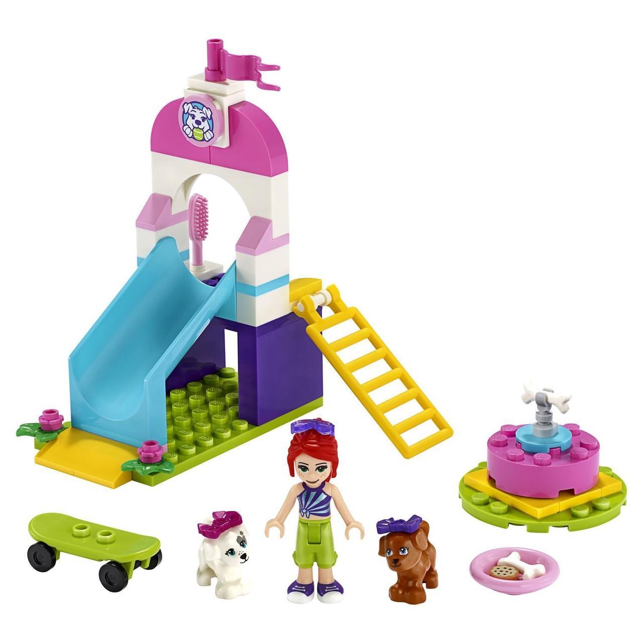 LEGO Friends 41396 Игровая площадка для щенков, конструктор ЛЕГО - фото 3