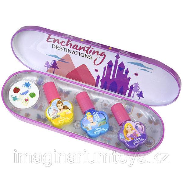 Детская косметика набор лаков для ногтей Дисней принцессы