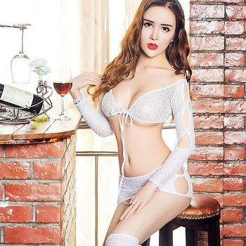 Эротический костюм «White lady»