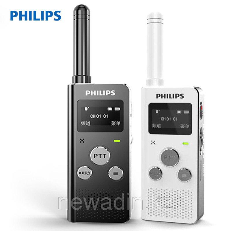 Мини рация Philips с функцией записи разговоров, диктофона, МП3 плеера