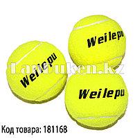 Набор теннисных мячей 3 штуки в упаковке NO662 WEILEPU