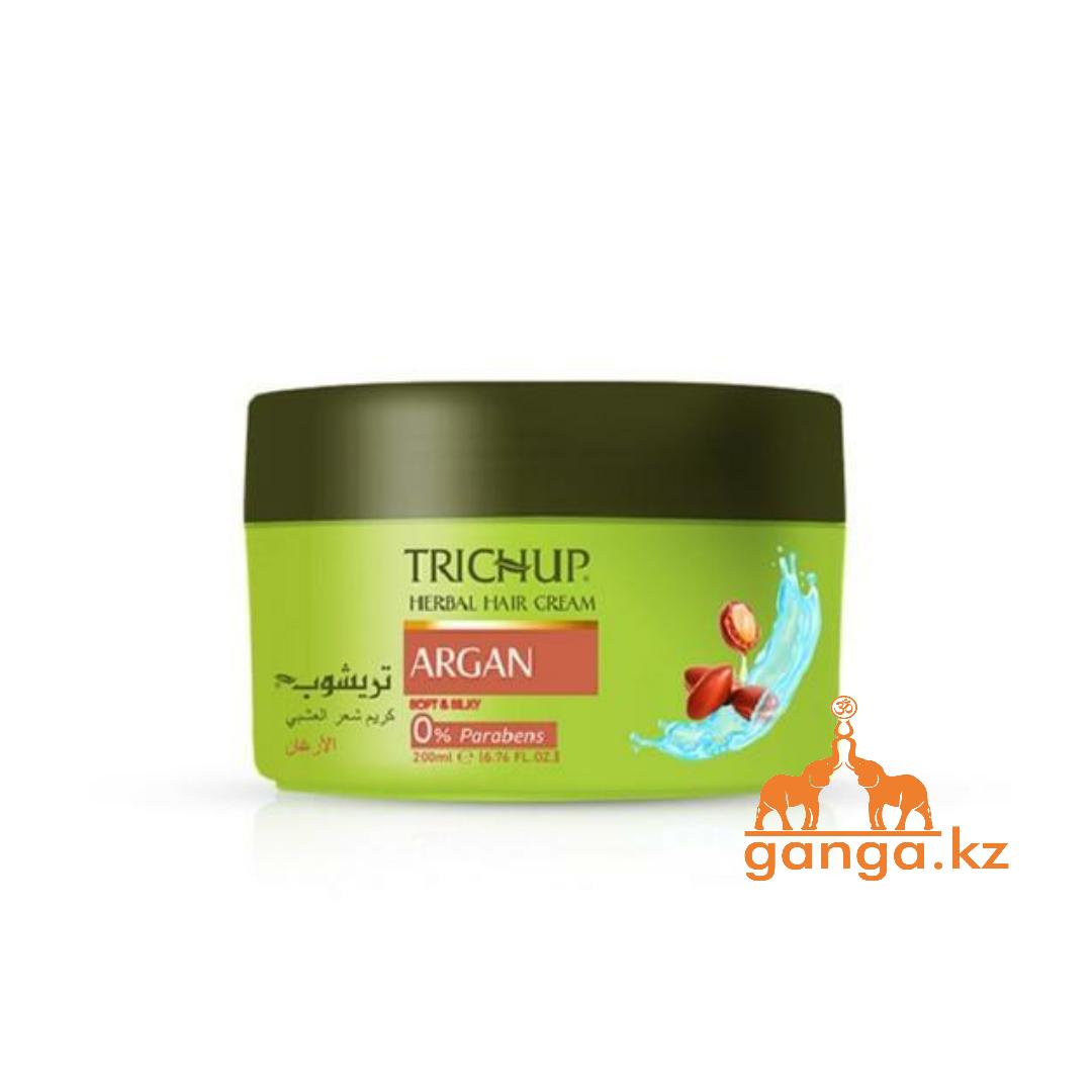 Крем для волос Тричап с аргановым маслом (Hair cream Argan Trichup VASU), 200 мл