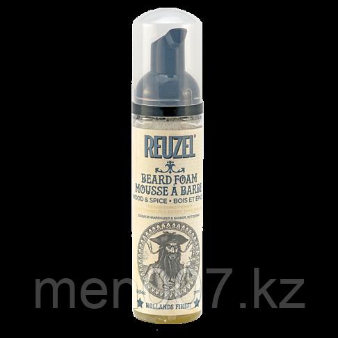 Reuzel Beard Foam Mousse a Barbe Wood & Spice 70 мл. (Пена кондиционер для бороды)