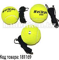 Набор теннисных мячей на веревках 3 штуки в упаковке 606G WEILEPU