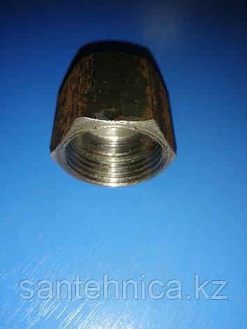 """Заглушка стальная с внутренней резьбой Ду 25 G1"""", фото 2"""