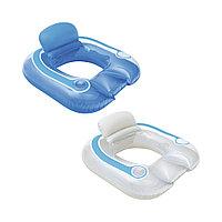 Надувное сиденье для отдыха на воде BESTWAY Flip-Pillow Lounge 43097 (102х94см, Винил), фото 1