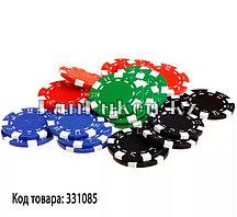 Фишки для покера 50 штук без номинала в ассортименте