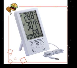 Гигрометр и градусники
