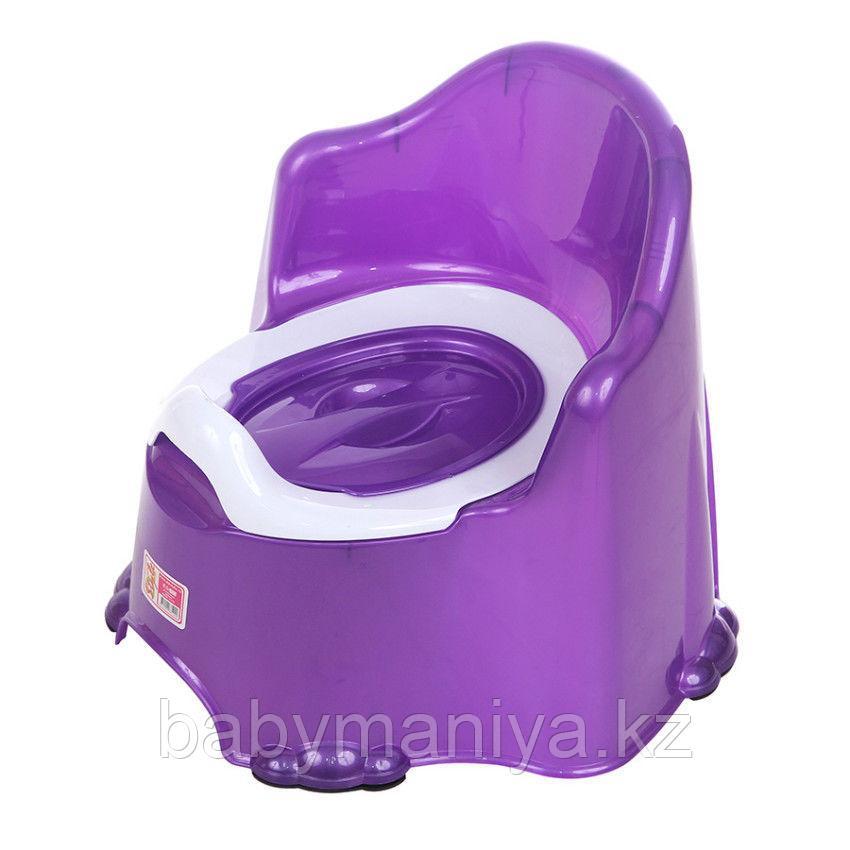 Детский горшок КОМФОРТ Dunya Plastik, фиолетовый
