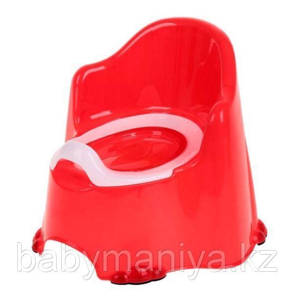 Детский горшок КОМФОРТ Dunya Plastik, красный