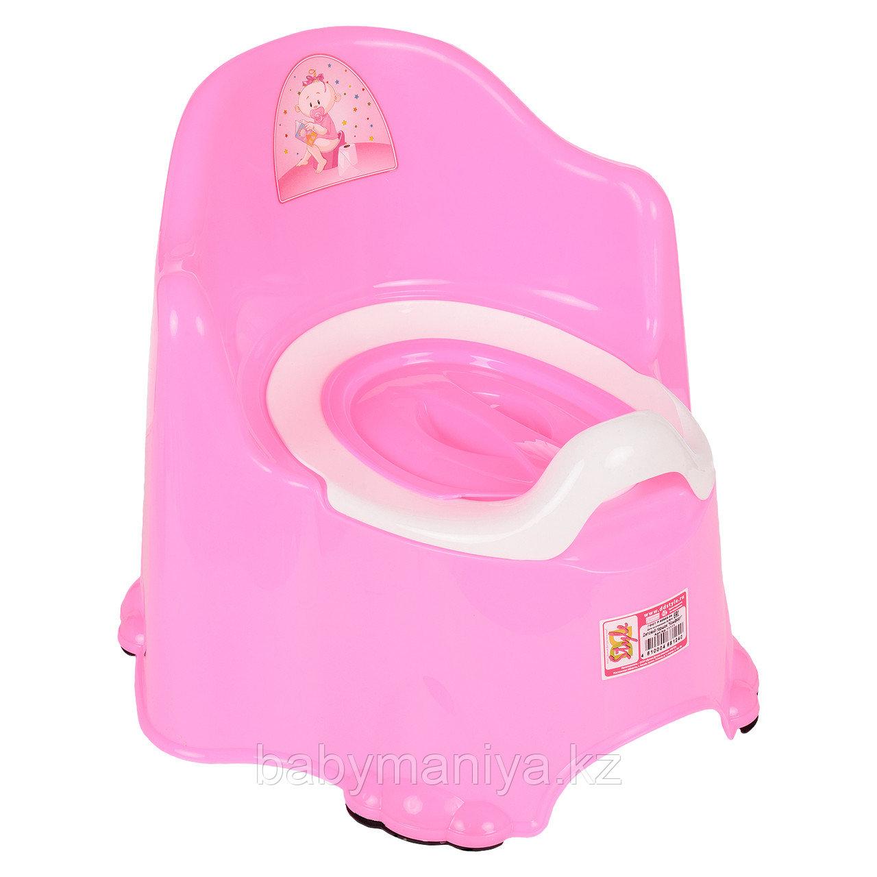 Детский горшок КОМФОРТ Dunya Plastik, розовый
