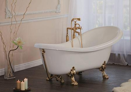 Ванна Скарлет 170х80х530/740(Ножки - золото, хром, бронза, белые)), фото 2