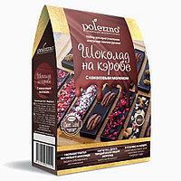 """Polezzno """"Шоколад на кэробе"""" с кокосовым молоком 300 гр"""