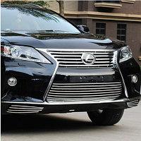 Хром решетка на Lexus RX 2013+, фото 1