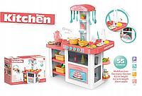 Детская игровая кухня Besty со светом и звуком розовый
