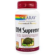 Solaray, DIM Supreme, 60 вегетарианских капсул, фото 3