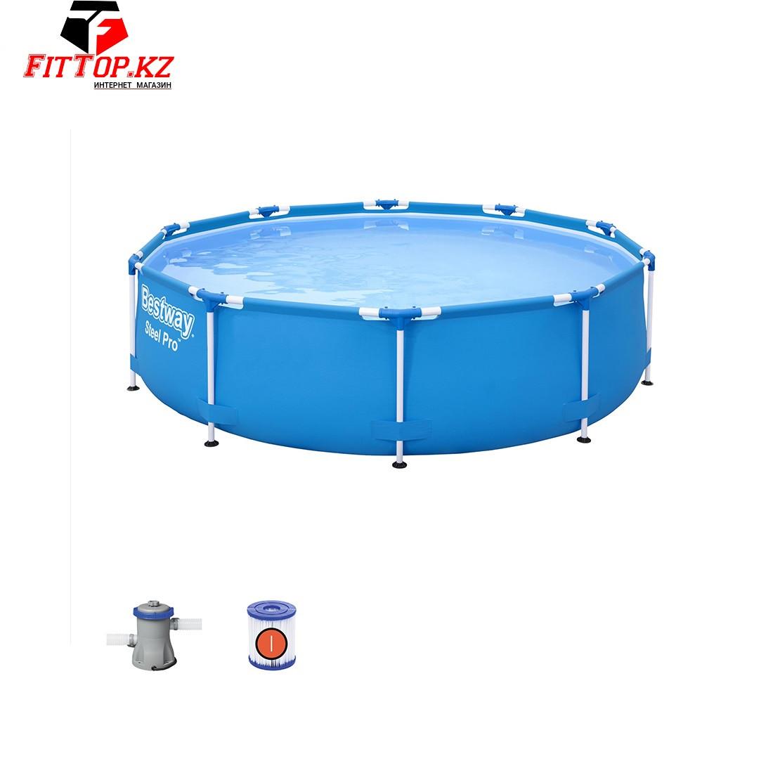 Каркасный бассейн Steel Pro 305 х 76 см, BESTWAY, 56679, Винил, 4678 л