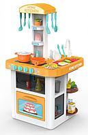 Детская игровая кухня Besty со светом, звуком и водой оранжевая