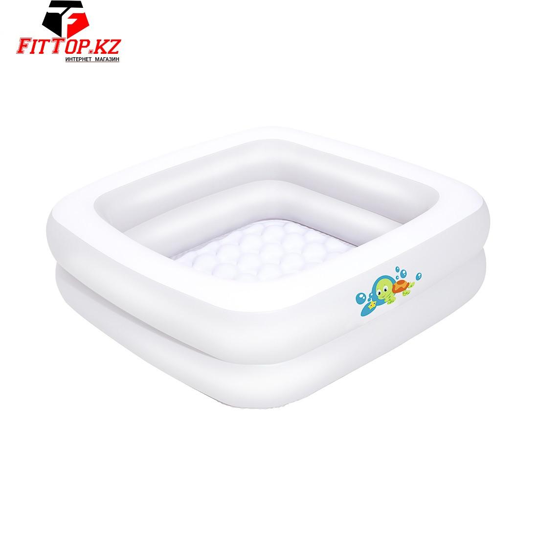 Детский надувной бассейн Baby Tub 86 х 86 х 25 см, BESTWAY, 51116