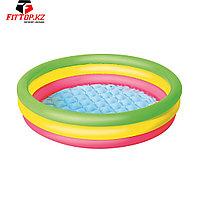 Детский надувной бассейн Summer Set 102 х 25 см, BESTWAY, 51104 (51104E), Винил, 62л