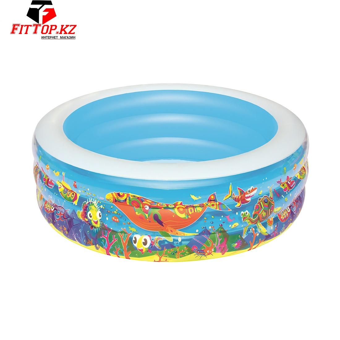Детский надувной бассейн Play Pool 152 х 51 см, BESTWAY, 51121, Винил, 400 л., 6+