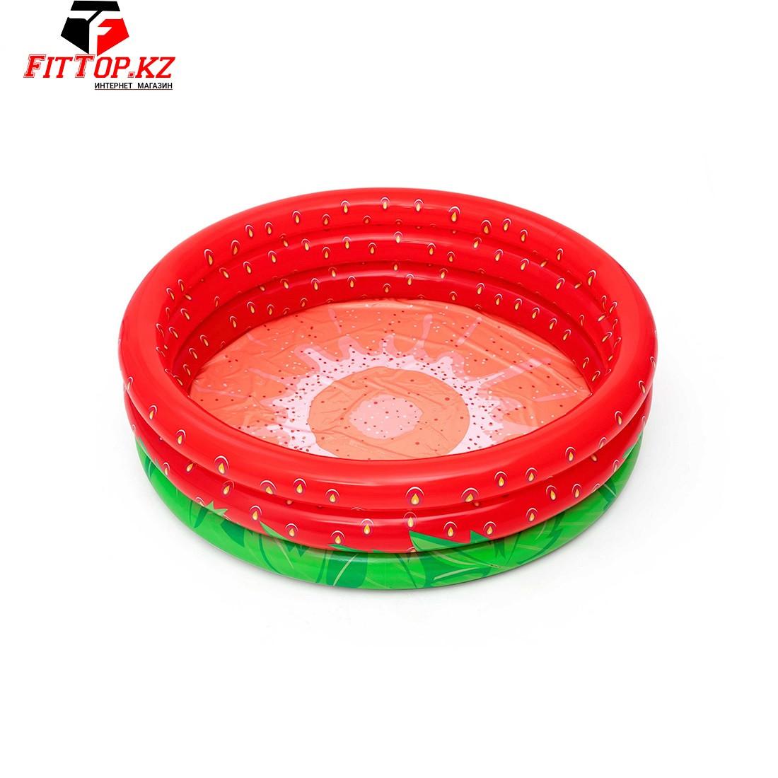 Детский надувной бассейн Sweet Strawberry 160 х 38 см, BESTWAY, 51145, Винил, 390л., 2+