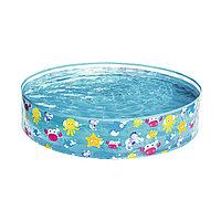 Детский бассейн с жёсткой стенкой Sparking Sea 122 х 25 см, BESTWAY, 55028