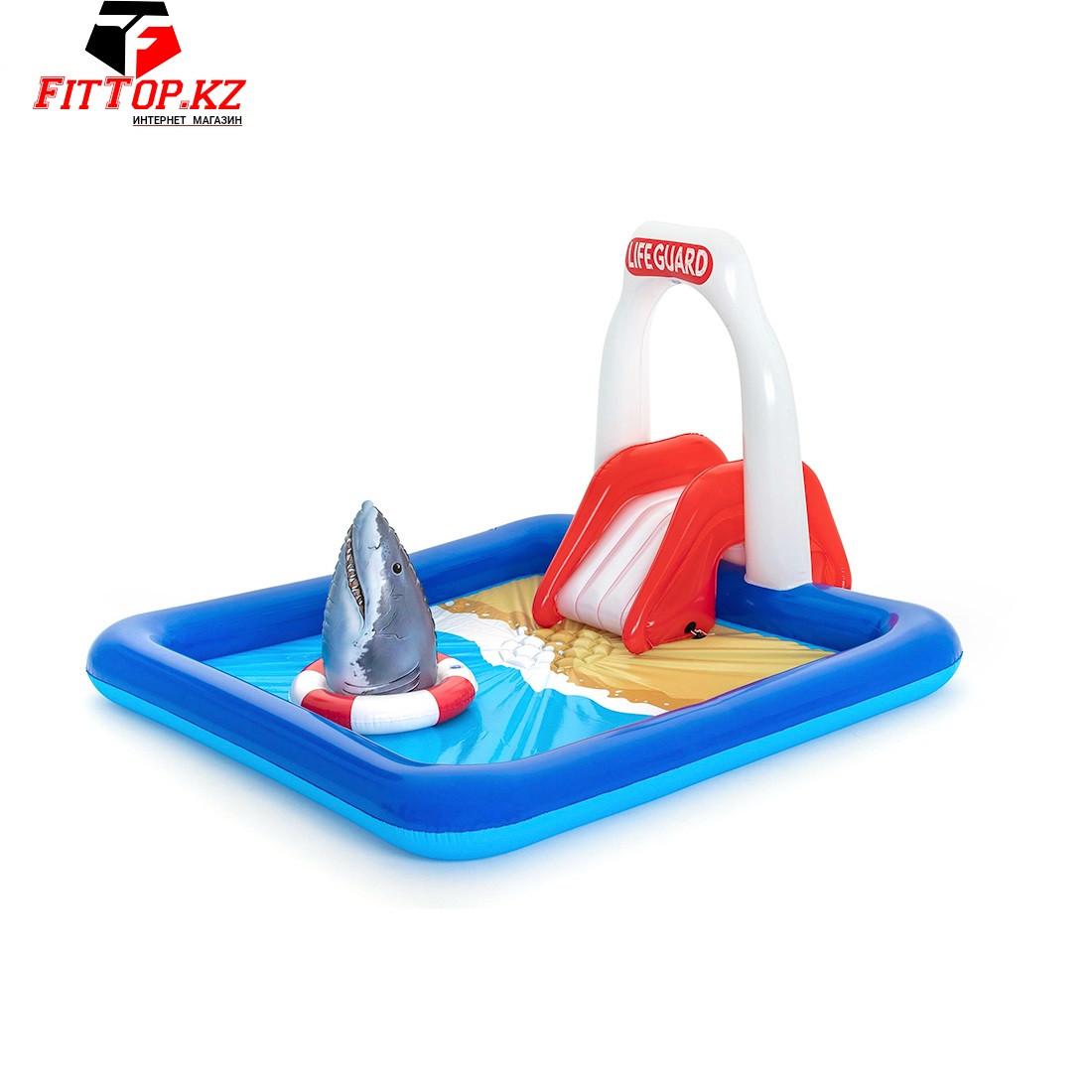 Детский надувной игровой бассейн Lifeguard Tower 234 x 203 x 129 см, BESTWAY, 53079