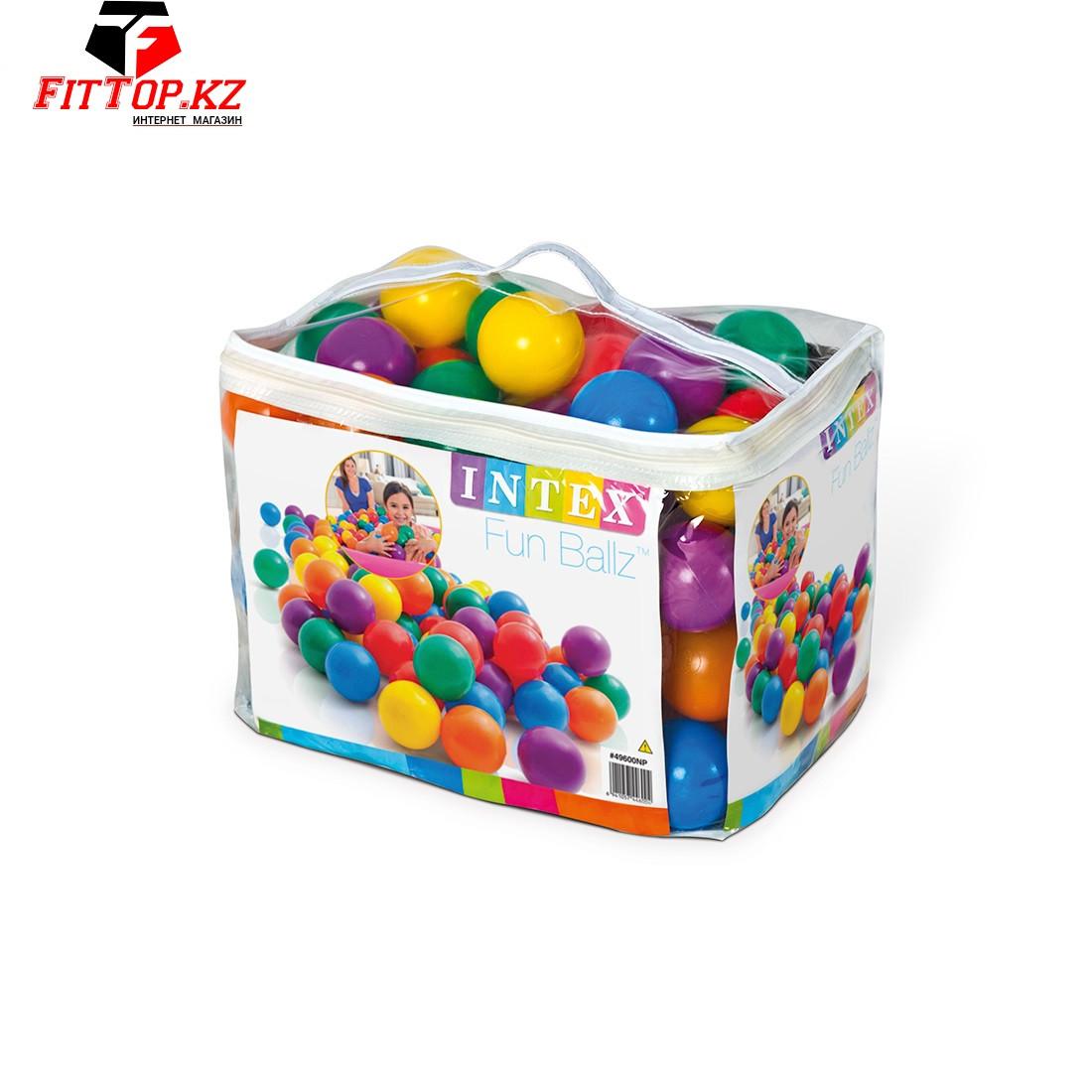 Шарики для бассейнов Fun Ballz 80мм,100 шариков в комплекте
