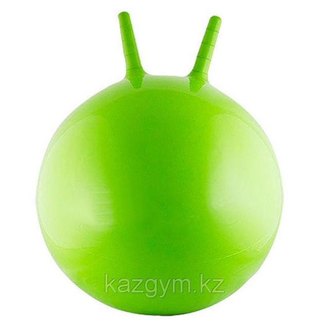 Фитбол, мяч для фитнеса с ручками/рожками (d=75см)