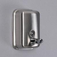 Диспенсер для антисептика/жидкого мыла 'Практик', 500 мл, нержавеющая сталь