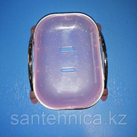 FRAP F332 Мыльница настольная фиолетовая, фото 2