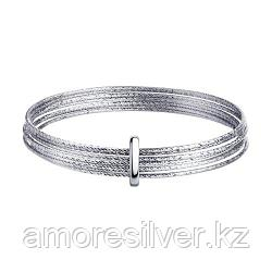 Браслет жёсткий из серебра с алмазной гранью  SOKOLOV 94050128 размеры - 20 22